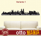 Preview: WandTattoo Magdeburg Skyline