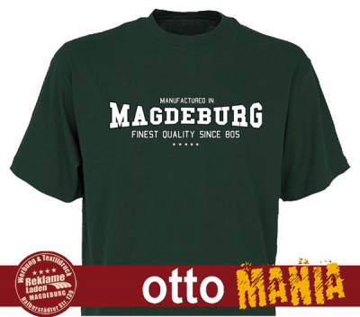 T-Shirt Manufactured in Magdeburg